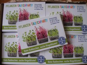 Flyer Pflanzentauschparty