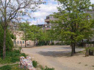 Erster Hof/ Freifläche Prinzenallee/ Soldiner Straße